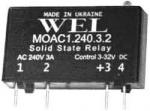 MOAC1,MOAC2, MODC1, MODC2  (твердотельные реле переменного и постоянного тока)